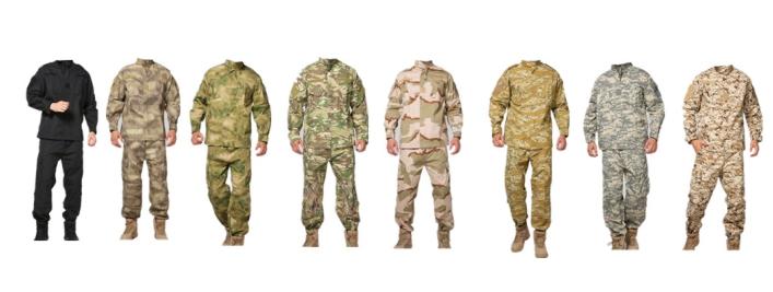تولید انواع پارچه نظامی
